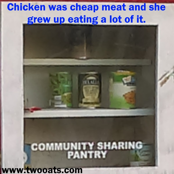 Food Insecurity Chicken